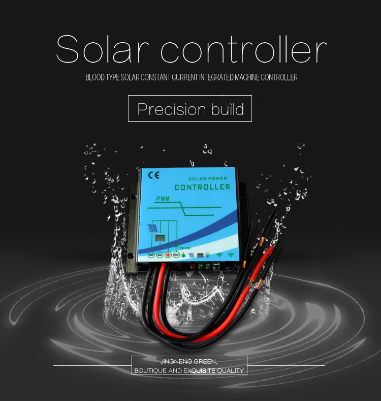Buck type Constant Current Solar Charge Controller function