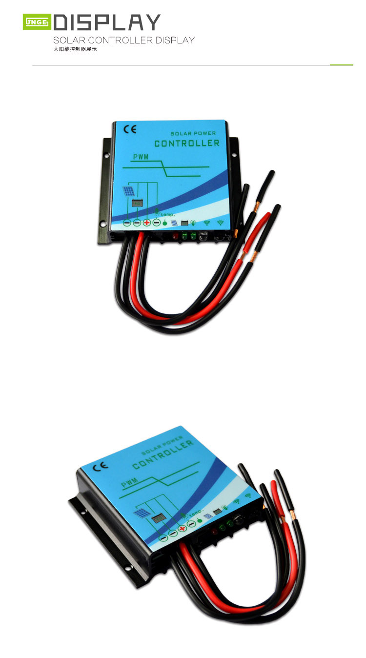 Buck type Constant Current Solar Charge Controller Display