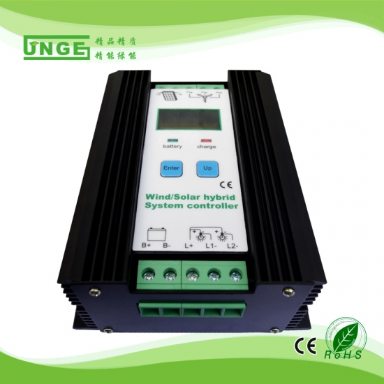 Wind Solar Hybrid Charge Controller
