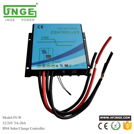 600W Regulador del regulador de carga del generador de turbina de viento a prueba de agua Identificaci/ón autom/ática del regulador de freno con indicador LED 12V 24V 300W